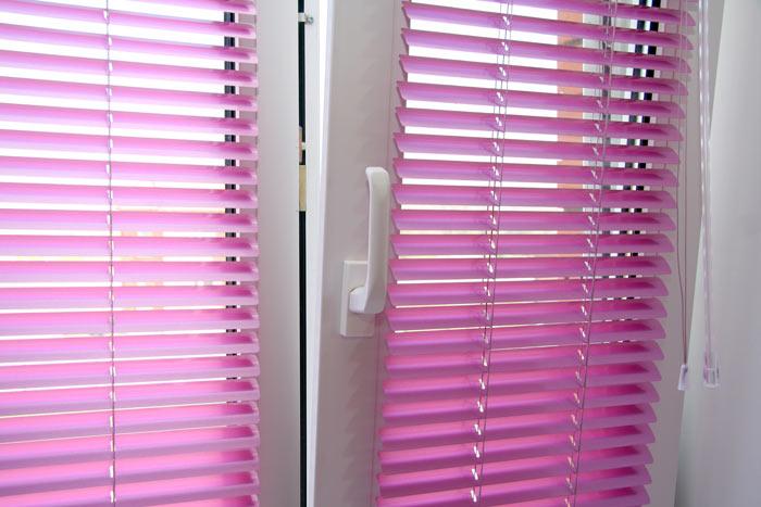 Tenda alla veneziana 25mm in alluminio su misura - Veneziana finestra ...